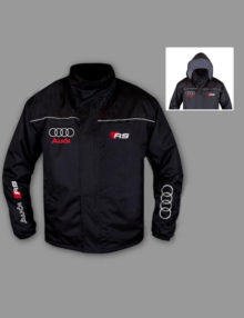 Hypermoderne Audi RS Bomber Jacket, På nicefit.dk finder du lækkert tøj til WC-34