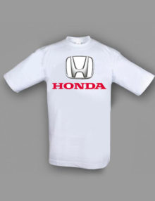 Honda T-shirt Hvid