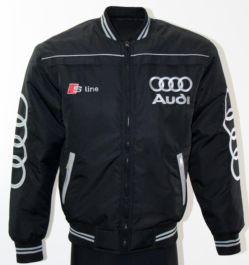 Rørig Audi S-Line jakke til motorsport entusiaster, og dem der bare vil IQ-33