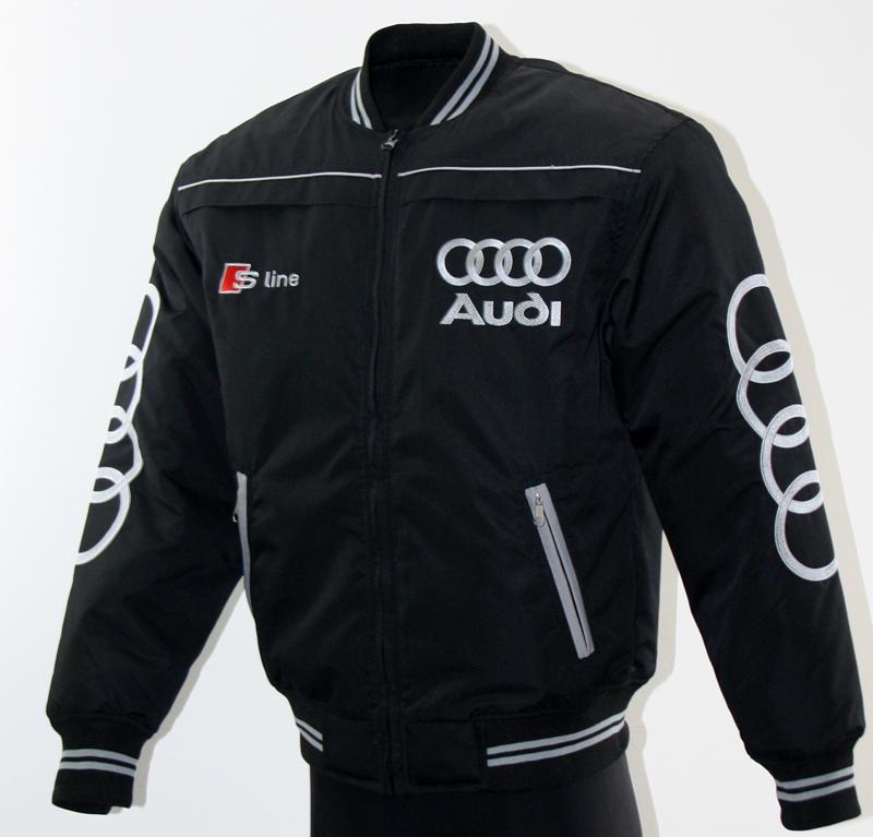 Dejlig Audi S-Line jakke til motorsport entusiaster, og dem der bare vil TP-92