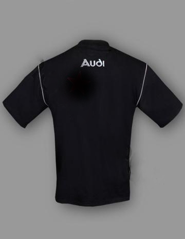 Nye Audi T shirt med logo for og bag LU-49
